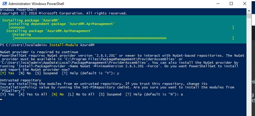 Deploying Azure File Sync